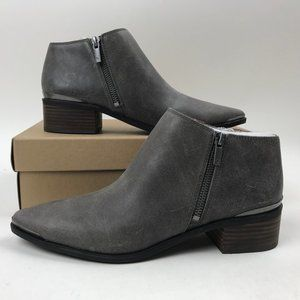 Lucky Brand  KAEDEE Side Zip Leather Ankle Bootie